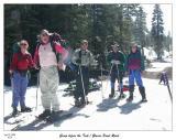 The smiling gang before the trek