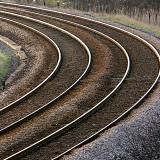 The rail lines to Redcar