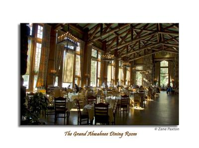 The Grand Ahwahnee Dining Room