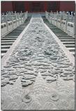 Stone carving - Forbidden City, Beijing
