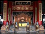 Emporer's reception area - Forbidden City, Beijing