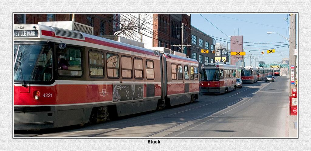 Stuck Street Cars