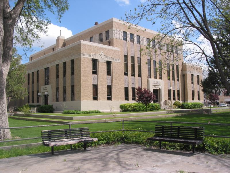 Lea County NM Courthouse