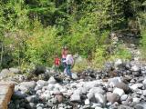 Jeny, Gavin and Mileah, Mt. Rainier N.P.