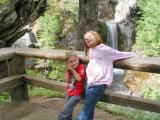 Gavin and Mileah, Christine Falls, Mt. Rainier N.P.