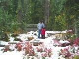 Jeny and Gavin, Mt. Rainier N.P.