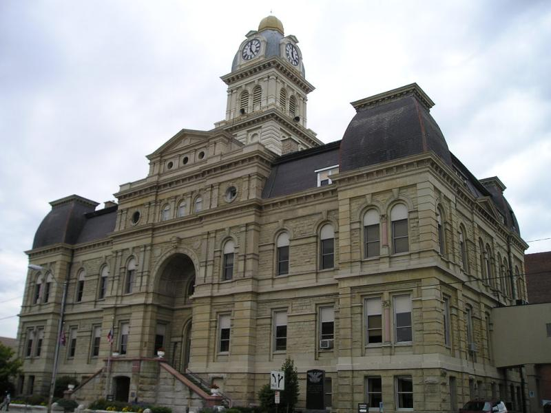 Ohio's county courthouse pictures