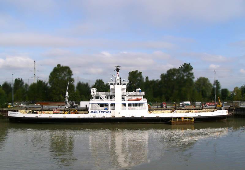 Bowen Queen at Deas Dock