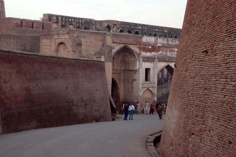 Lahore Fort - SHAH BURJ GATE