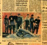 Publicado no Jornal o Estado de São Paulo do dia 5 de Agosto de 2001. Realizei fotos para perícia do acidente com o helicóptero da familia Diniz realizadas no dia 4 de agosto de 2001 a pedido do DAC - Departamento de Aeronáutica Comercial.