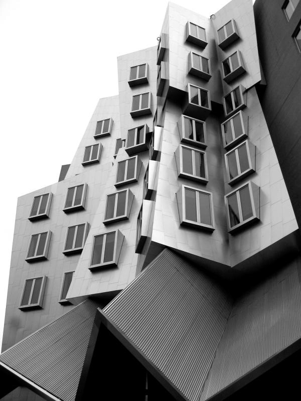 Gehrys Stata Center at MIT <br>6965