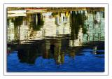 Dittisham ~ waterfront reflection