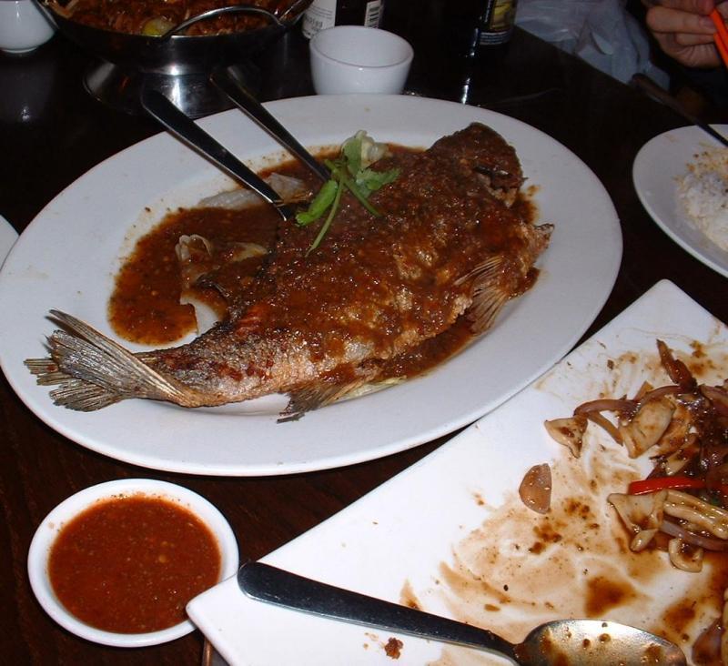 Belacan Sauce Fish