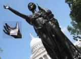 Wisconsin Madison  Statue War