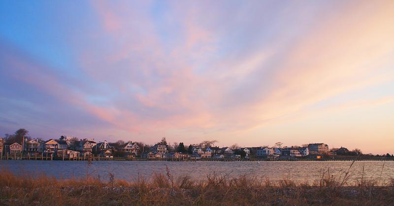 Sunrise in Edgartown Harbor