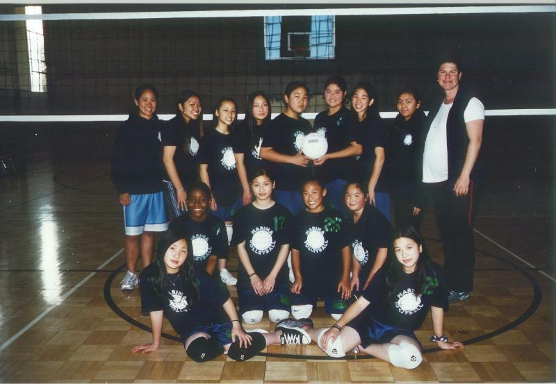 the marina 2004 volleyball team