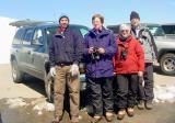 me and my Colorado birding carmates Sue, Sally & Bob