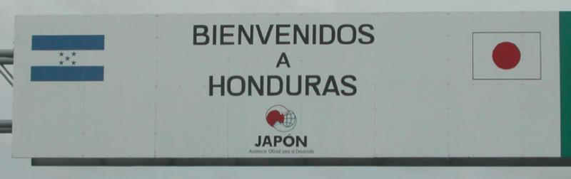 Honduras Welcome