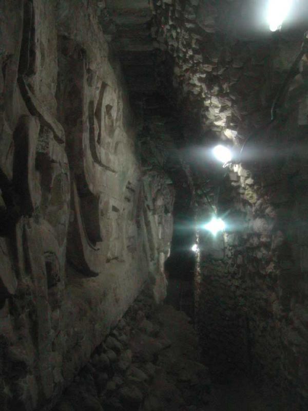 Rosalia Temple Wall Underground