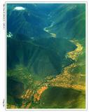 从飞机上看西藏