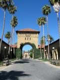 Into the Main Quad, Stanford University