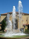 Fountains by the Hall, Stanford University
