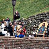 Gusle player in Kalemegdan