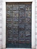 Church door in Kotor Old Town