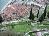 Hairpin path through St. Ivan's Fortress