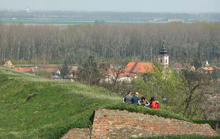 Petrovaradin and the plains of Vojvodina
