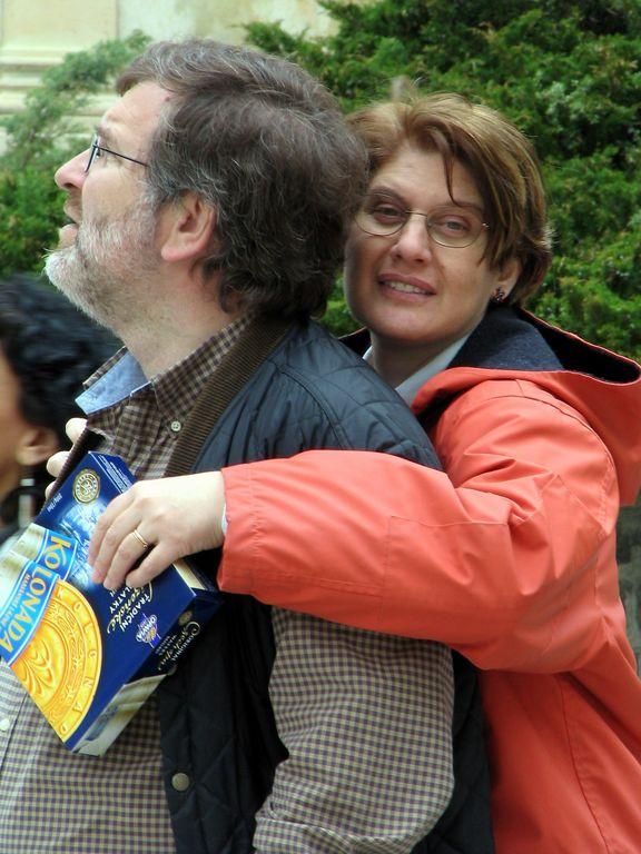 Vivian and Dimitris in Karlovy Vary