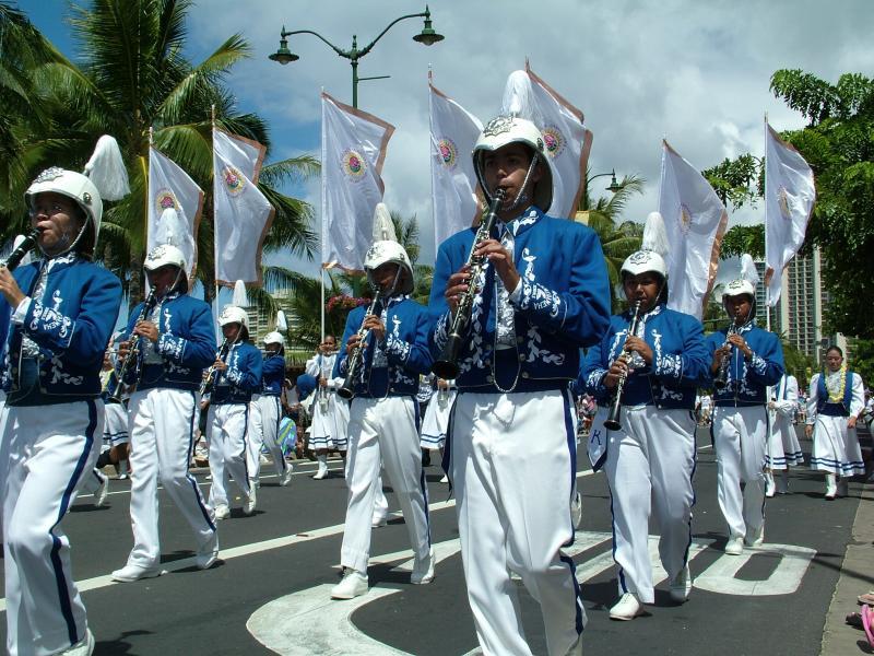 Kamehameha Marching Band