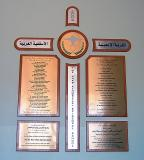 Dedication Plaques Listing Special Donors