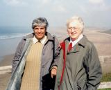 Sr. Mary and Sr. Najah on the Coast of Wales
