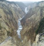 yellowstone grand canyon falls