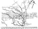 Nansemond Co. VA Map abt. 1700