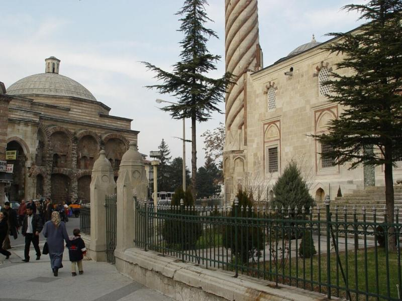 Edirne Üc Serefeli Three Balcony Mosque