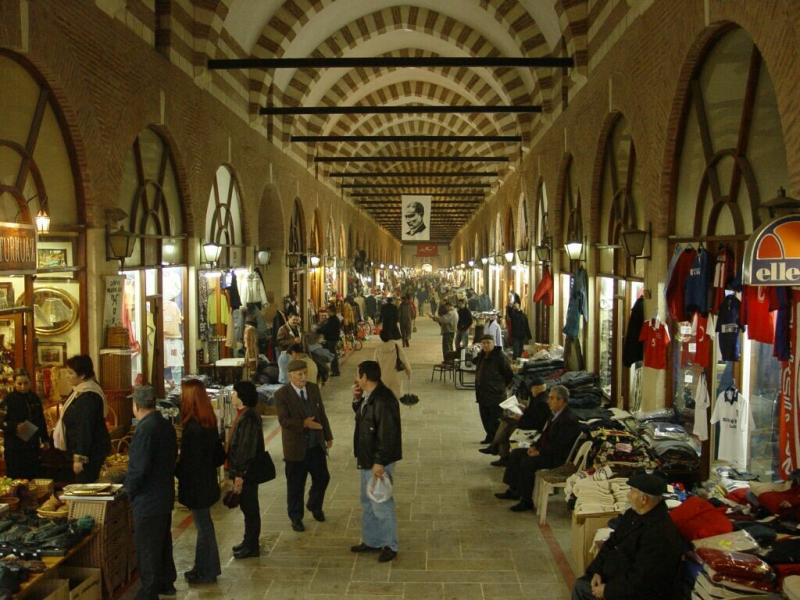 Edirne Covered Bazar