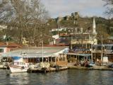 Istanbul along Bosporus at Anadolu Kavagi 2003 12 10