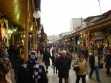 Bursa along bazars and markets