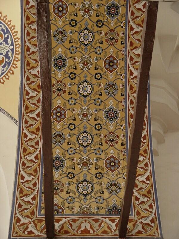 Konya Selimiye Mosque decoration 2003 september