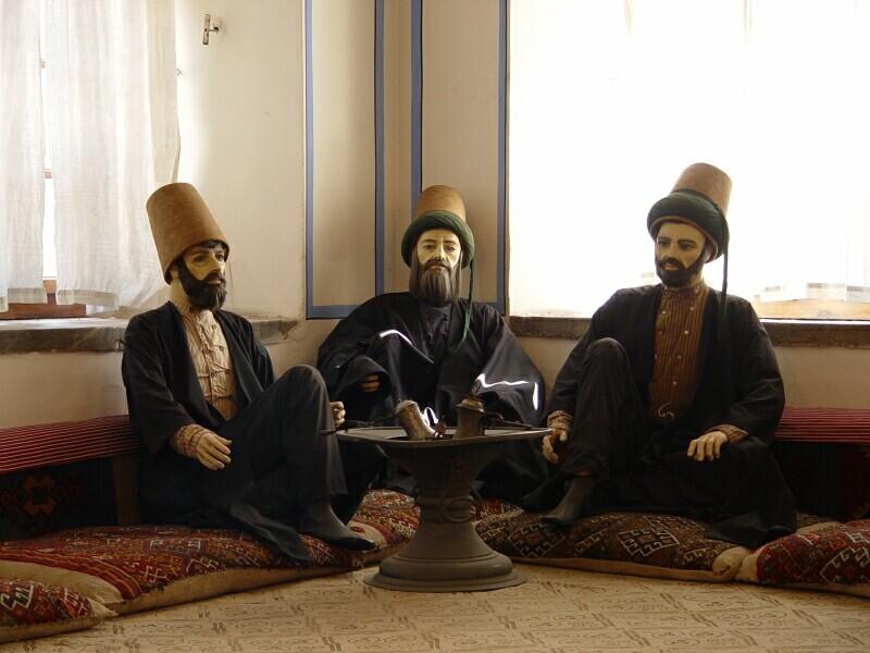 Konya Mevlana Museum 1 2003 september