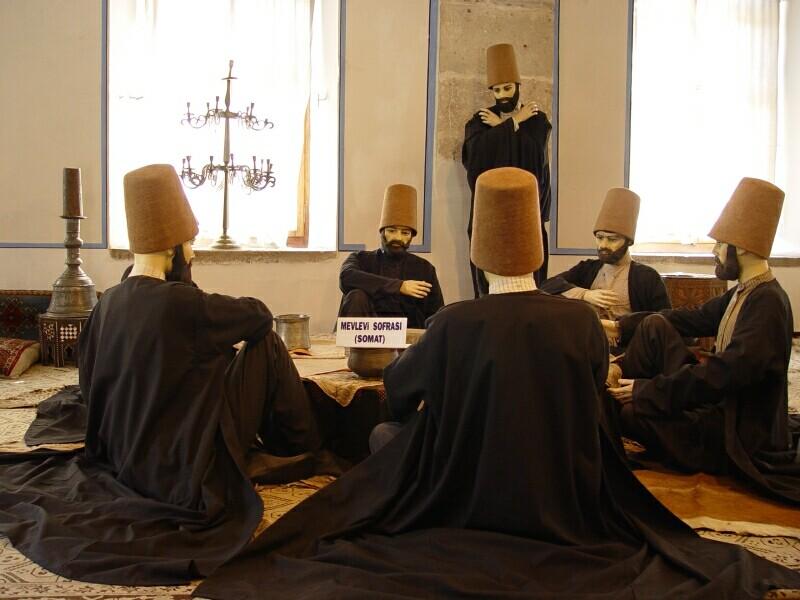 Konya Mevlana Museum 2 2003 september