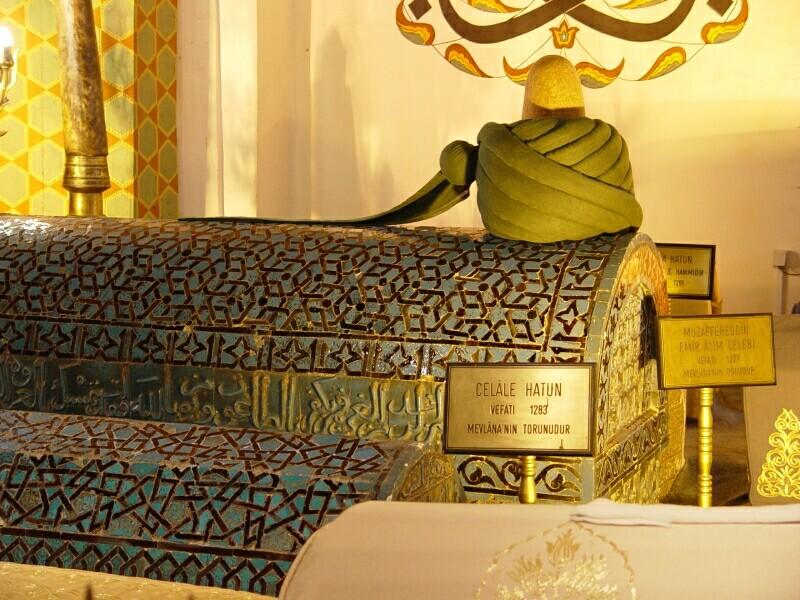 Konya Mevlana Museum 7 2003 september