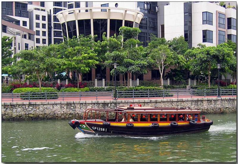 Bumboat, Robertson Quay