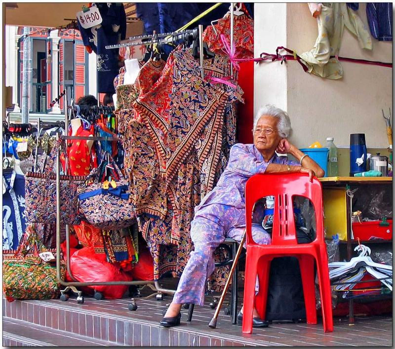 Fabric Sales, Chinatown