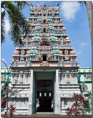 Sri Ghandayuthapani Temple, ca 1859