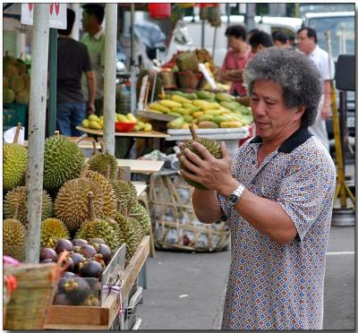 Durian inspection