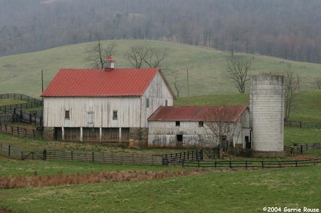 Virginia foothills