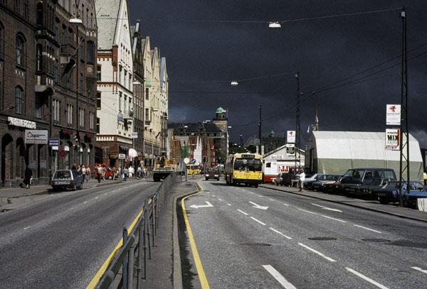 Storm in Bergen